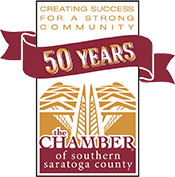 Creating success for a strong community - 50 years - Chamber of Southern Saratoga County