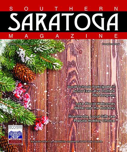 2016 Holiday Issue of Southern Saratoga Magazine - Cover