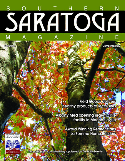 Southern Saratoga Magazine Fall 2016 Issue Cover