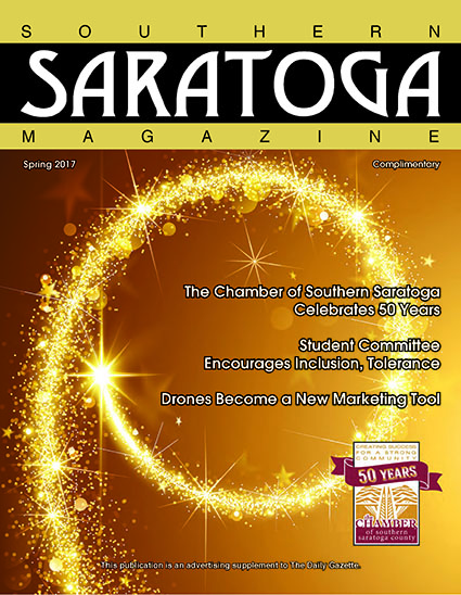 2017 Spring ssue of Southern Saratoga Magazine - Cover