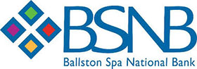 Luncheon Sponsor - BSNB - Ballston Spa National Bank Logo