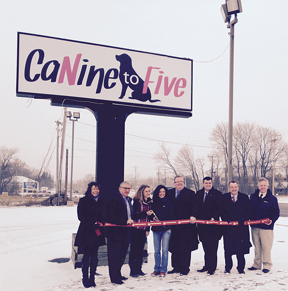 CaNine to Five Ribbon Cutting