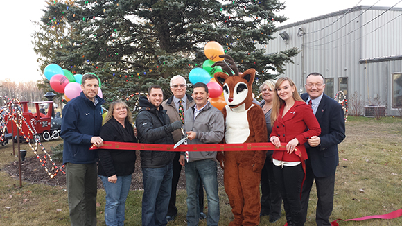 Ribbon Cutting Quick Response Kick off 15th Annual Santa