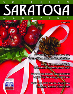 Southern Saratoga Magazine - Holiday 2012 cover
