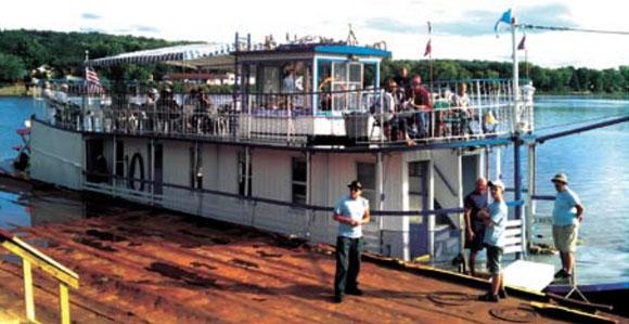 marine industry in Saratoga County