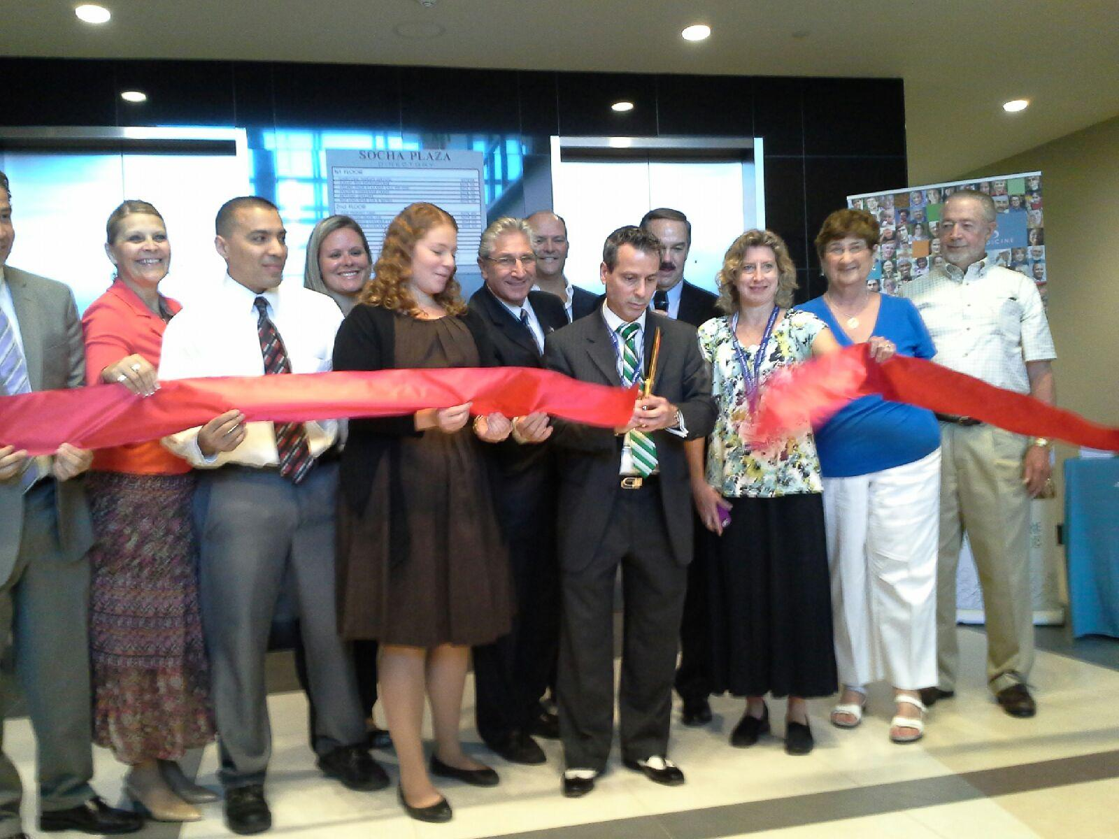 Ribbon Cutting at the New Ellis Hospital Primary Care Center
