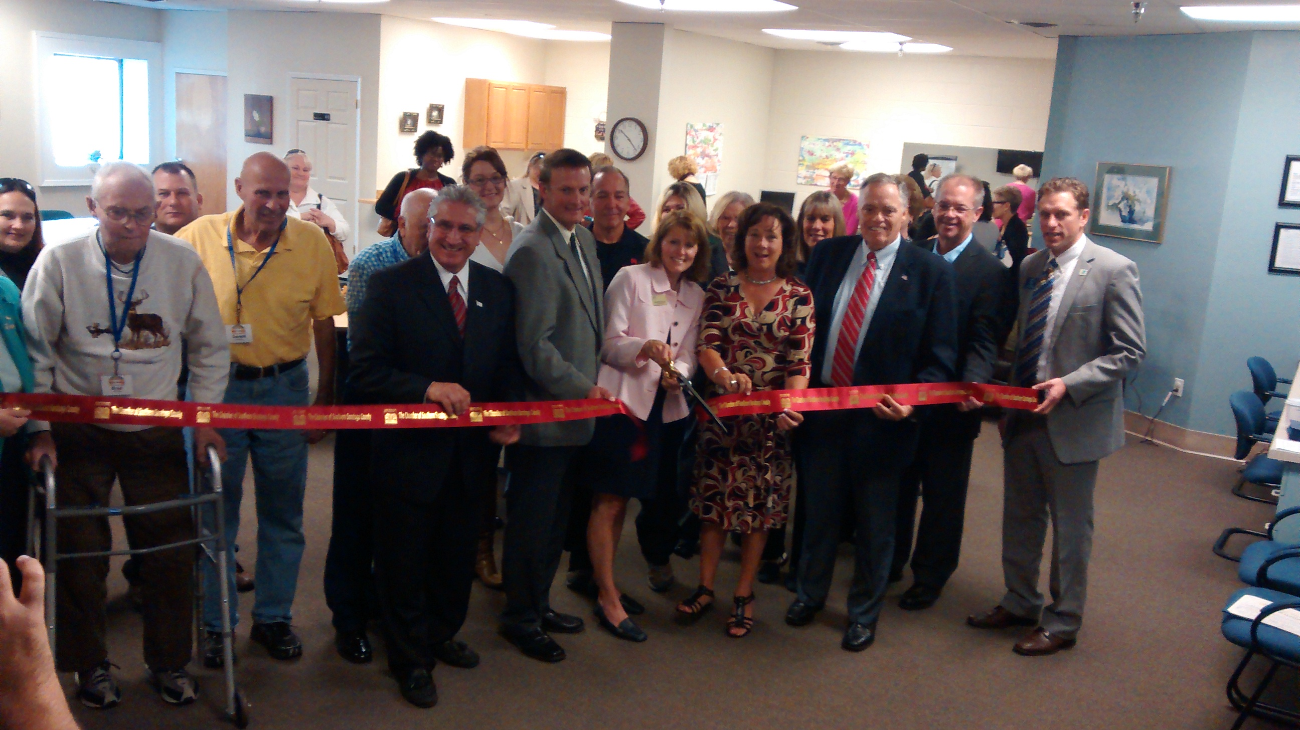 Ribbon Cutting for Bright Horizons