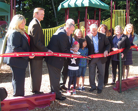 Ribbon cutting for Helping Hands - 23 September 2014