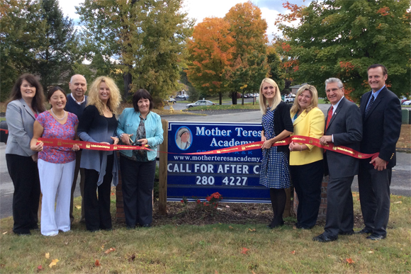 Ribbon Cutting at the New Mother Teresa Academy location in Clifton Park, NY