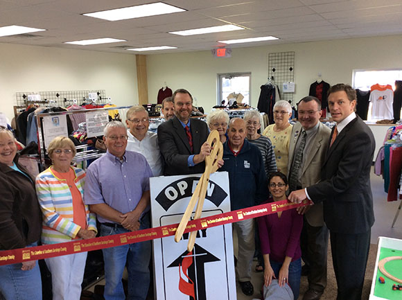 The Way Consignment in Schuylerville, NY Shop Ribbon Cutting, October 3rd, 2014