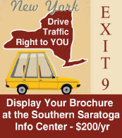 Advertising opportunities - Southern Saratoga County Information Center