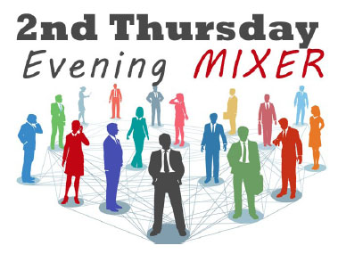 Sponsorship opportunities - 2nd Thursday Evening Mixers