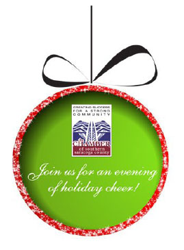 Grow your business by sponsoring the Chamber of Southern Saratoga County 2015 Holiday Celebration