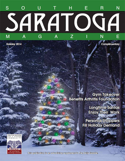 Southern Saratoga Magazine - Holiday 2014 Cover