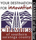 Chamber of Southern Saratoga County - Chamber of the Year Logo