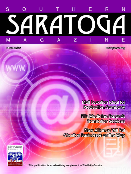 Southern Saratoga Magazine March 2015 Cover