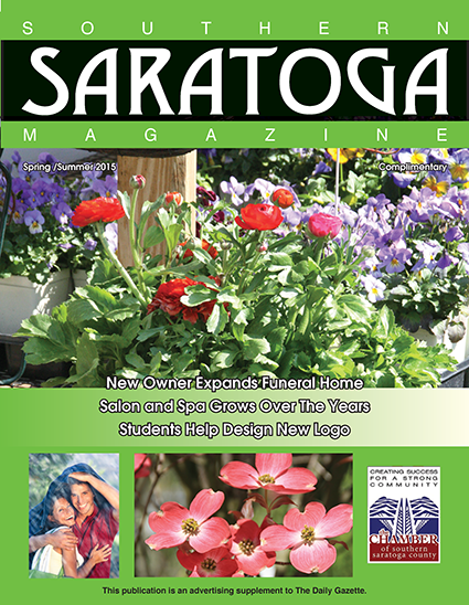Southern Saratoga Magazine May 2015 cover
