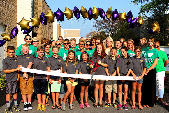Ribbon Cutting - Milton Terrace  Elementary Schools Ballston Spa, NY on September 2, 2015