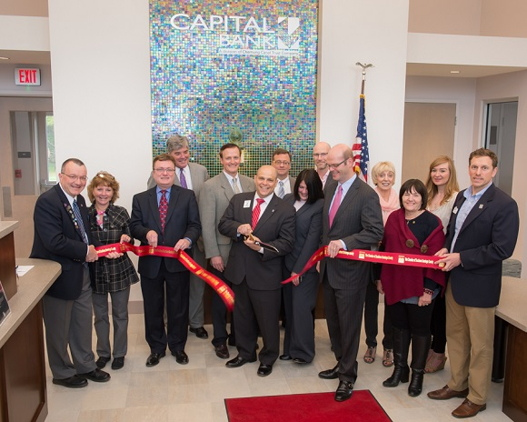 Capital Banks Ribbon Cutting to celebrate their new location at 25 Park Ave, Clifton Park, NY 12065.