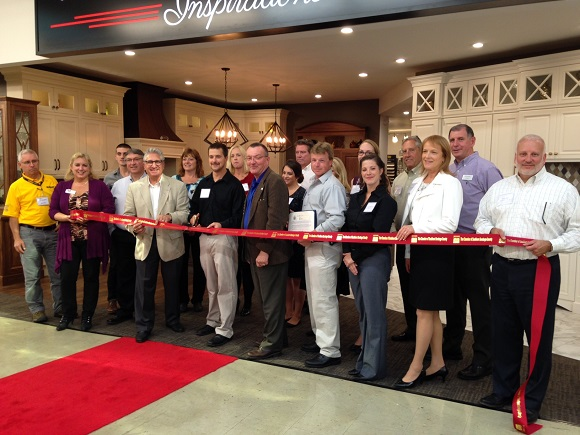 Ribbon Cutting at Curtis Lumber on October 11, 2016
