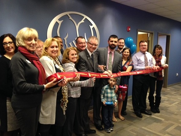Ribbon Cutting for Allstate Insurance The Lofrumento Agency Ballston Lake, NY, Feb 7, 2017