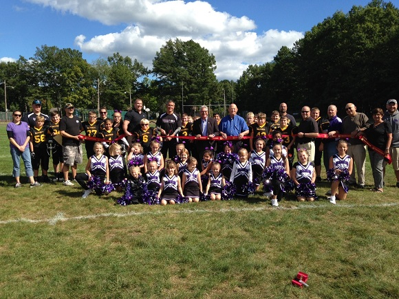 Ribbon cutting for Ballston Spa Community Football