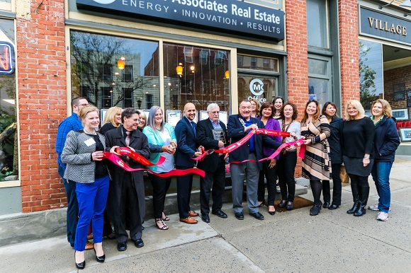 Ribbon Cutting CMK & Associates Real Estate 5.05.2017