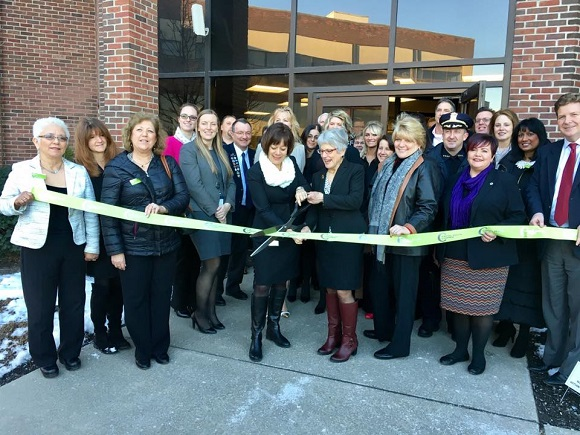 Ribbon Cutting for Cioffi Slezak Wildgrube PC Schenectady NY, Feb 2, 2017