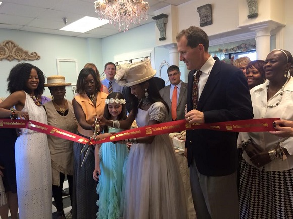 Ribbon Cutting Collection D'Alli Children's Boutique & Showroom