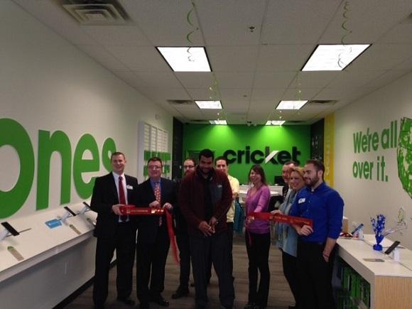Ribbon Cutting for Cricket Wireless Clifton Park NY, Jan 23, 2017