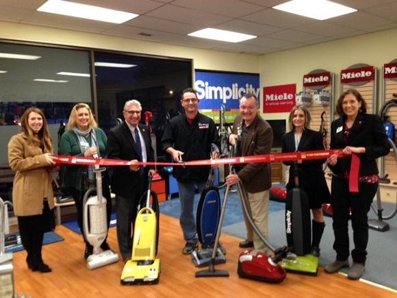 Ribbon Cutting for Elite Vacuum Round Lake NY, Jan 26, 2017