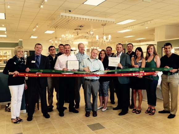 A ribbon cutting at FW Webb's to honor of their 150th Anniversary was held on Jun 24 2016.
