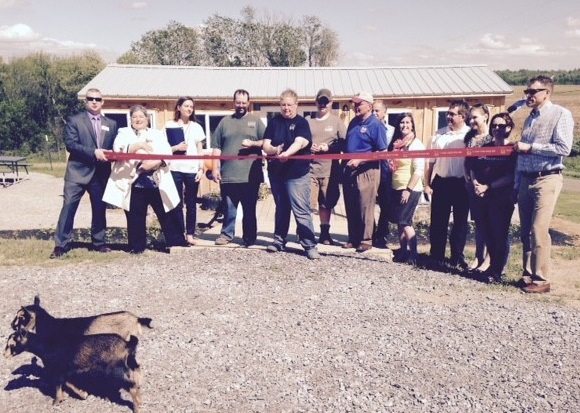 Ribbon Cutting  Gorsky's Farm Stillwater, NY, May 19, 2017