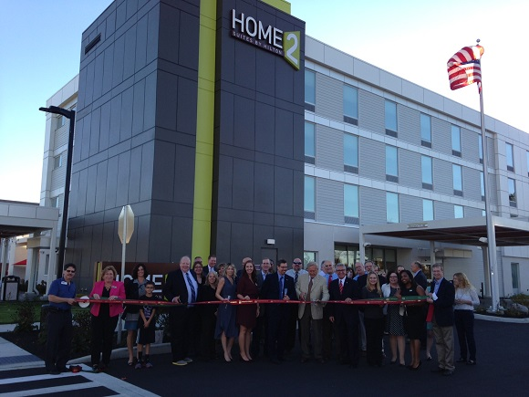 A new hotel was unveiled in Malta with a ribbon cutting.  Home 2 Suites by Hilton an extended stay, pet friendly hotel hosted a grand opening on Oct 19, 2016. The hotel is located at 103 Saratoga Village Blvd in Malta.