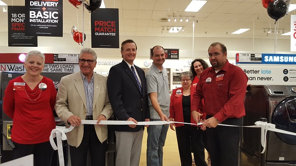 Ribbon cutting for JCPenney's Appliance Center