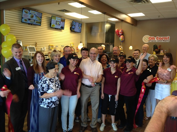 Ribbon Cutting for Oh Corn! Arepas and More, June 1 2016
