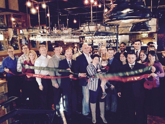 Ribbon Cutting for Pasta Pane