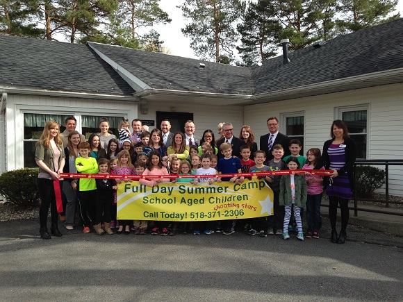 Ribbon Cutting for Shooting Stars Childcare