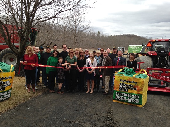 Ribbon Cutting for Saratoga Sod Farm