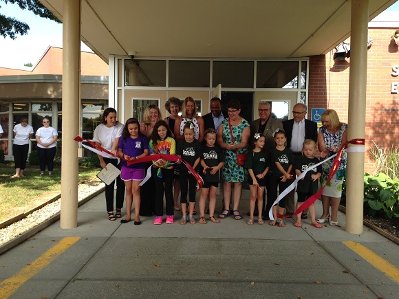 Ribbon Cutting Skano Elementary School 50th Anniversary 2016-09-01