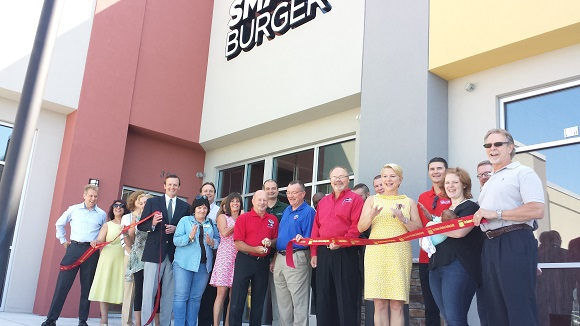 Ribbon Cutting at Smash Burger on 2016-07-20