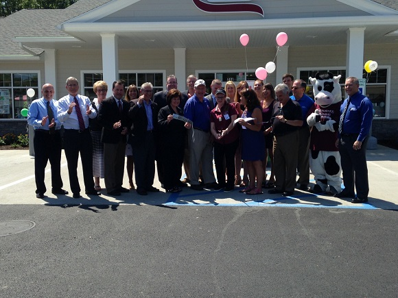 The Grand Opening of the newest Stewart's stores located at 214 Guideboard Road in Halfmoon was held on Aug 5, 2016.