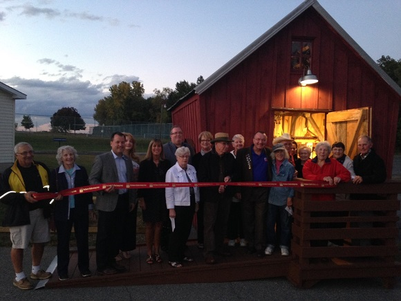 Ribbon Cutting for The Halfmoon Toolshed 9/27/2016