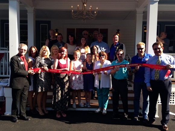 Ribbon Cutting for Townley & Wheeler Funeral Home in Ballston Lake