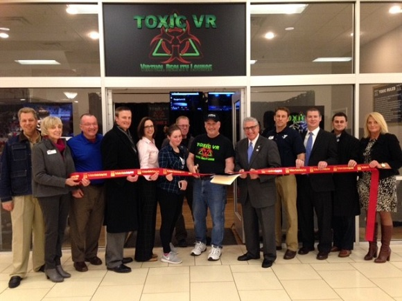 Ribbon Cutting for Toxic VR Virtual Reality Lounge Clifton Park, NY, Mar 24, 2017
