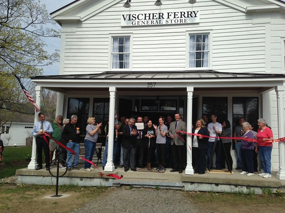 Ribbon Cutting for Vischer Ferry General Store 4/22/2016