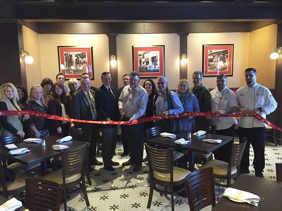 Ribbon cutting for Seven- An American Bistro