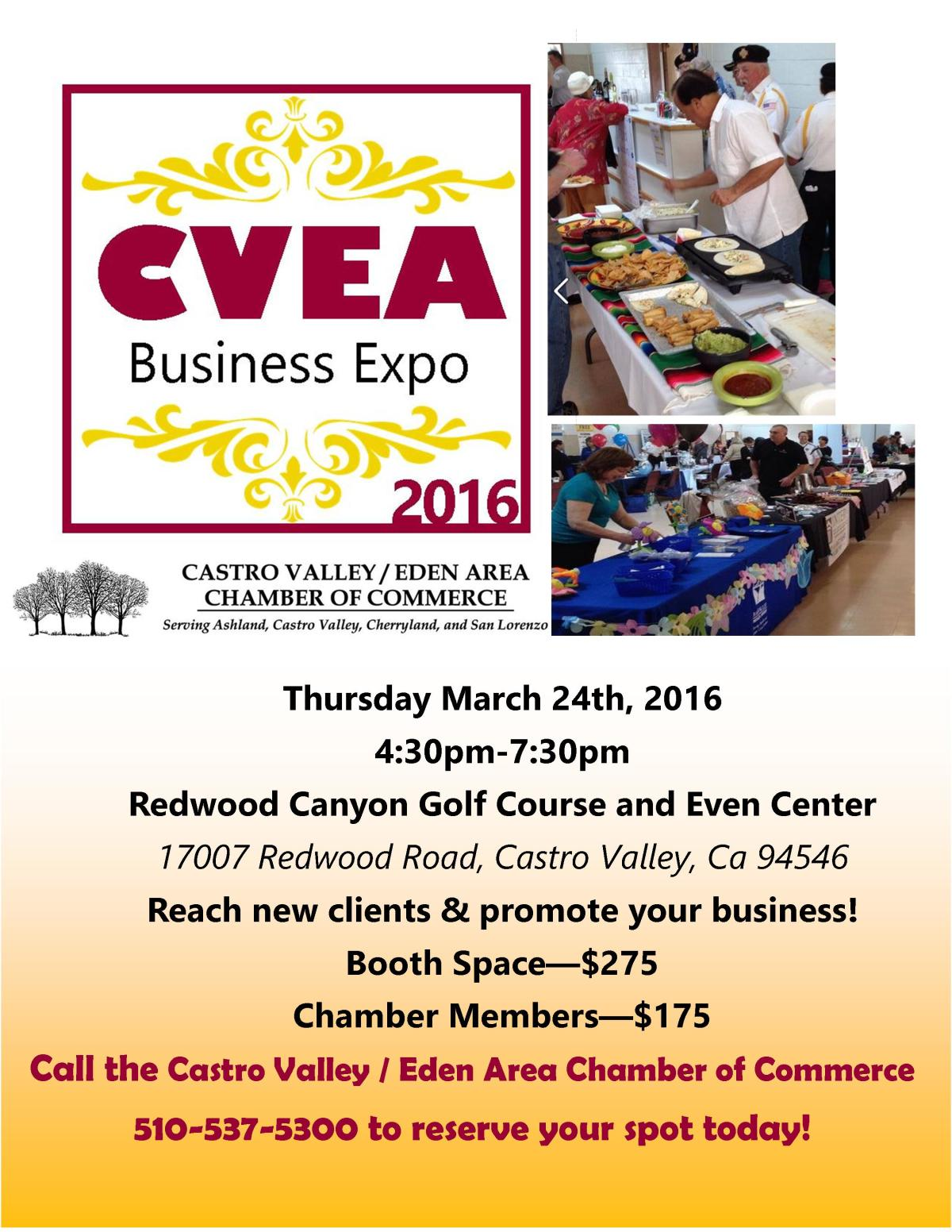CVEA Business Expo on March 24