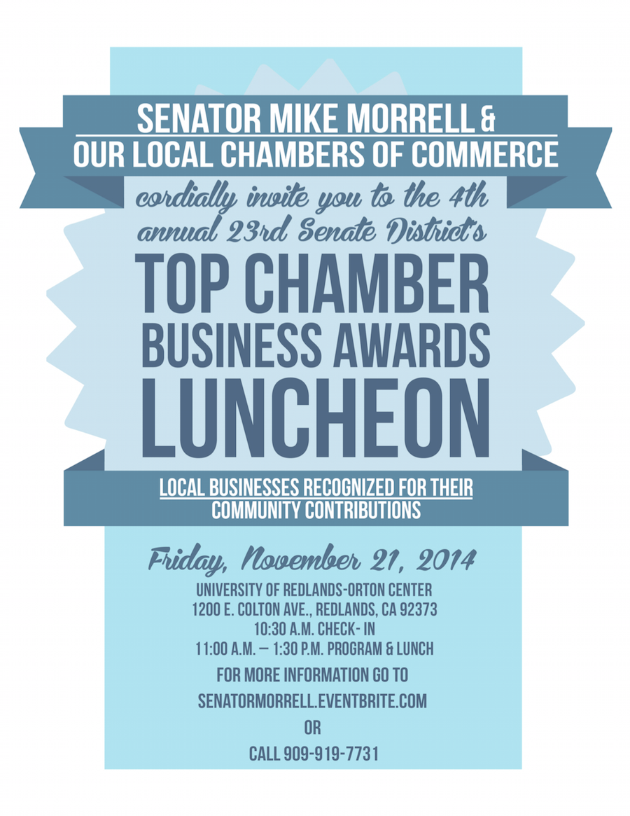 Top Business Awards Luncheon