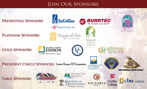Rancho Cucamonga Chamber of Commerce - State of the City SPONSORS